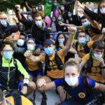 Trail Walker Oxfam…. Sourires derrière les masques pour la 11 éme édition.