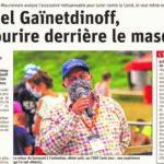 Le Dauphiné Libéré, séduit par mon idée d'un Salon du Masque !